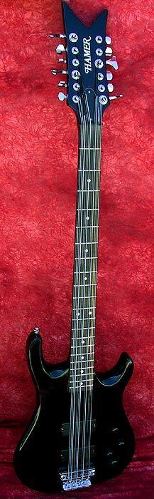Hamer 1994 Chapperel 12 String Bass, Active Electronics/P.U.s, American Made