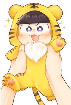 Istg, make him real Kawaii Chibi, Cute Chibi, Awesome Anime, Anime Love, Osomatsu San Doujinshi, Sans Cute, Ichimatsu, Haikyuu Anime, Ghibli