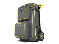 Lightweight electrically-powered suitcase by Live Luggage