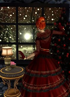 """Let it Snow"" Captured Inside IMVU - Join the Fun!"