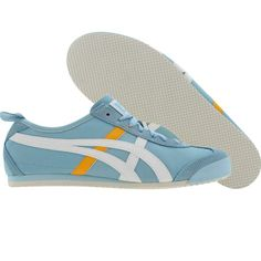 Asics Onitsuka Tiger Womens Mexico 66 (crystal blue / white) HL474-4201 - $79.99