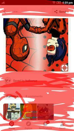 😂 the jealousy in his eyes 😂 Miraclous Ladybug, Ladybug Comics, Lady Bug, Memes Arte, Foto Gif, Marvel Universe, Adrien Y Marinette, Miraculous Ladybug Fan Art, Cat Noir