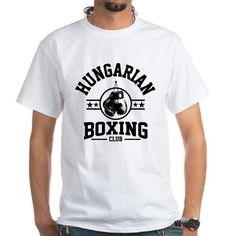 hungarian boxing club T-Shirt on CafePress.com