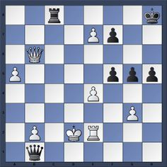 Black to move and checkmate in 6. No computer lines please #chess   #echecs