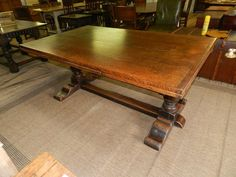 Oak Draw Leaf Dining Table