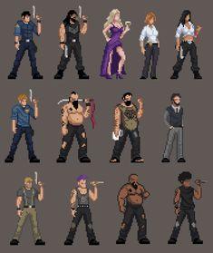 Vigil - Pixel Art, Point & Click Adventure Game with Turn-based Combat - Devlogs - itch. Nail Bat, Pix Art, Art Images, Sprites, Game Card Design, Rpg Map, 2d Game Art, Pixel Animation, Anime Pixel Art