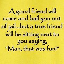 Good friends !
