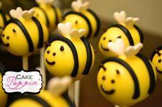 Bee cake pops  www.facebook.com/cakepoppin