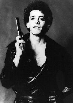 #Lou Reed podczas sesji zdjęciowej. 1977 rok
