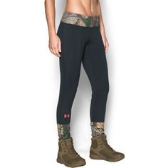 Under Armour Women's UA Tevo Leggings (2,775 INR) ❤ liked on Polyvore featuring activewear, activewear pants, under armour and under armour sportswear