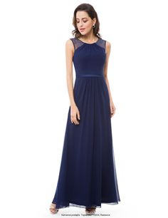 Ever-Pretty Long Evening Ball Gowns Beaded Chiffon Bridesmaid Dresses 08742 Ball Gowns Evening, Chiffon Evening Dresses, Mermaid Evening Dresses, Lace Bridesmaid Dresses, Homecoming Dresses, Wedding Dresses, Cocktail Dress Prom, Beaded Chiffon, Lace Dress