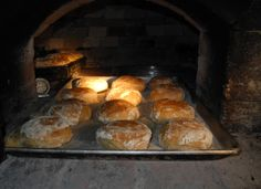 Potato bread from the wood-fired oven