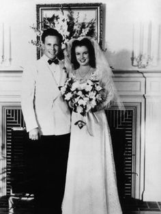 Marilyn Monroe (then known as Norma Jeane Baker) married her first husband James Dougherty in 1942 when she was 16.