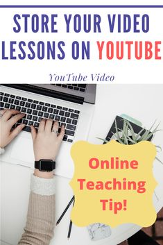 Save space on your LMS class website by storing all your video lessons on YouTube. Here's a video on how to upload your videos, mark them as unlisted, edit their subtitles, create playlists, and more. Keep online teaching simple by using YouTube. #edtech #teachingtips School Life, High School, New Teachers, Graduate School, Playlists, Teaching Tips, You Videos, School Ideas, College
