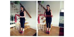 ▷ Workout mit dem Übungsband für Bauch, Beine & Po + Schultern Stretch Bands, Workout, Female, Training, Sport, Fitness Studio, Health, Advertising, Kochen