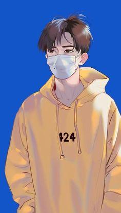 Anime Guys My ideal type Cartoon Kunst, Cartoon Art, Cute Anime Guys, Anime Love, Anime Boy Zeichnung, Bakugou Manga, Japon Illustration, Image Manga, Fanarts Anime