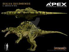 Oxalaia quilombensis by Herschel-Hoffmeyer.deviantart.com on @DeviantArt