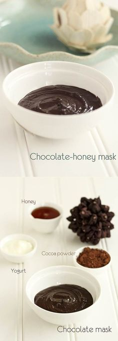 Chocolate yogurt face mask | DIY Stuff. @Liz Mester Toolan Wolfe We are DOING this on Friday!