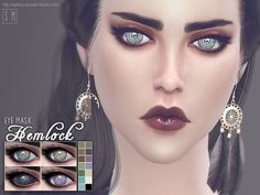 A set of sparkling eyes with come more paranormal colours included.  Found in TSR Category 'Sims 4 Eye Colors'