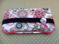 Pink Paisley Wipes Case by TwoChikkadees on Etsy, $5.00