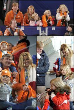 Op 20 februari was de prinses samen met Willlem Alexander en Ariane ...