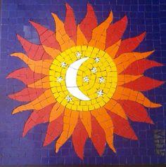 Sol em mosaico/ sun in mosaic, by Schandra