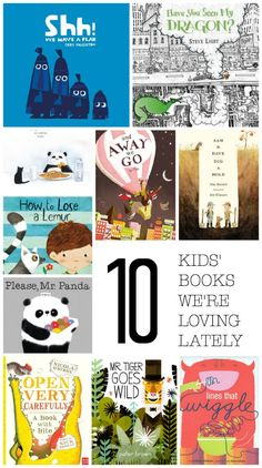 10 Kids' Books We're
