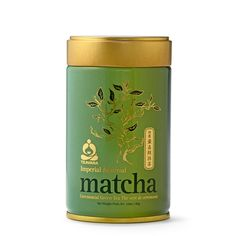 """Matcha Japanese Green Tea 80g for $45. This is high quality ground green tea used in traditional Chinese and Japanese tea ceremonies. This """"Imperial"""" grade is handcrafted and made from finest ingredients."""