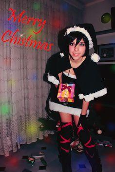 Kingdom Hearts Xion Christmas cosplay squarenix videogame costume handmade by AriBRabbitStore on Etsy