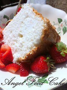 Lizardbreath Creations: Angel Food Cake (checked off the bucket list! Angel Food Cake, Angelic Angel, Ali, Cake Recipes, French Toast, Bucket, Cakes, Breakfast, Desserts