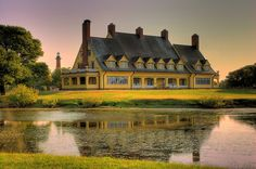 Whalehead Club in Currituck, NC - a popular museum and venue for events and weddings in the OBX.