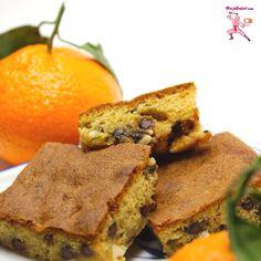 Chocolate Chip and Mandarin Orange Cookie Bars NinjaBaker.com #Asian fusion #cookies #chocolate