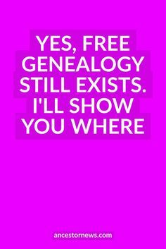 Get my list of 13 free (and favorite) genealogy sites. A great place to begin your research. If you want to do genealogy without spending a lot of money, my article lists 13 of my all-time favorite free genealogy websites. Free Genealogy Records, Free Genealogy Sites, Genealogy Forms, Genealogy Chart, Genealogy Research, Family Genealogy, Ancestry Websites, Ancestry Records, Genealogy Humor