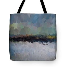 Abstract Landscape 1523 Tote Bag by Rafael Salazar