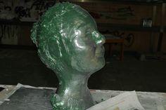 Busto barro/escayola