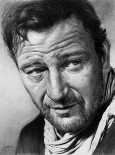 John Wayne by CubistPanther on deviantART