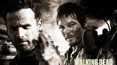 Rick and Daryl The Walking Dead HD Wallpaper - WallpaperFX