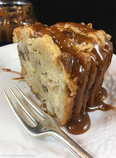 Salted Caramel Apple Cake Recipe