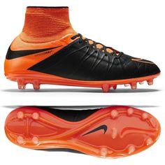 Nike Men Hypervenom Phantom II Leather FG Soccer Cleats | Soccer