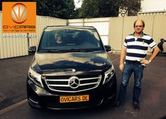 """Customer Testimonial: Satisfied customers from Holland, with their new Mercedes V-Class. """"Although we could not meet Mr. Anders in person, we have been excellent taken care of by his """"Helpers"""" and have come very quickly and uncomplicated to our car.  #ovicars #export #luxurycars www.ovicars.de"""