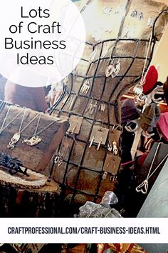 Lots of ideas for building a craft business http://www.craftprofessional.com/craft-business-ideas.html