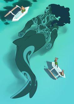 Makes me think is Maui was a merman - character design - Mermaid Art, Shark Mermaid, Mermaid Drawings, Mermaids And Mermen, Merfolk, Mythological Creatures, Magical Creatures, Pretty Art, Creature Design