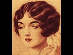 1920s-1930s Hair Tutorial for LONG HAIR - YouTube