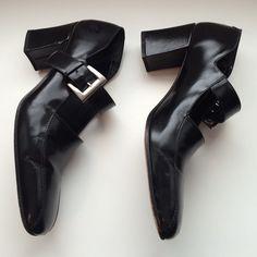 Via Spiga Shoes - Black buckle shoe