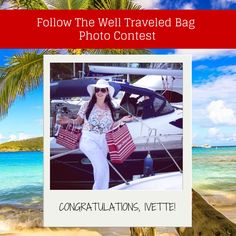 Congratulations to our Well Traveled Bag photo contest winner!  Enter to win an Alex and Ani bangle by simply sharing a picture of yourself with your Little Switzerland shopping bag using #LittleSwitzerland!