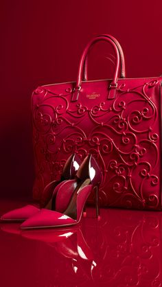FASHION, RED, dresses, handbags, shoes, beauty