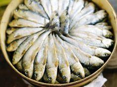 www.shootingpeas.com Mallorcan Salted Sardines
