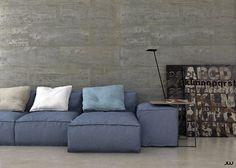 Peanut sofa Rendering.