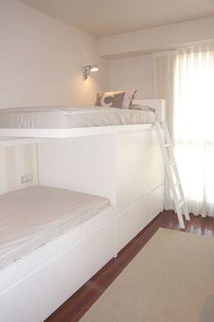 Litera tren, bunk beds
