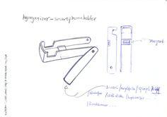 Ein paar Zusatzfunktionen zB. Stift, Notizblockhalter, Nagefeile, Spiegel und USB-stick.